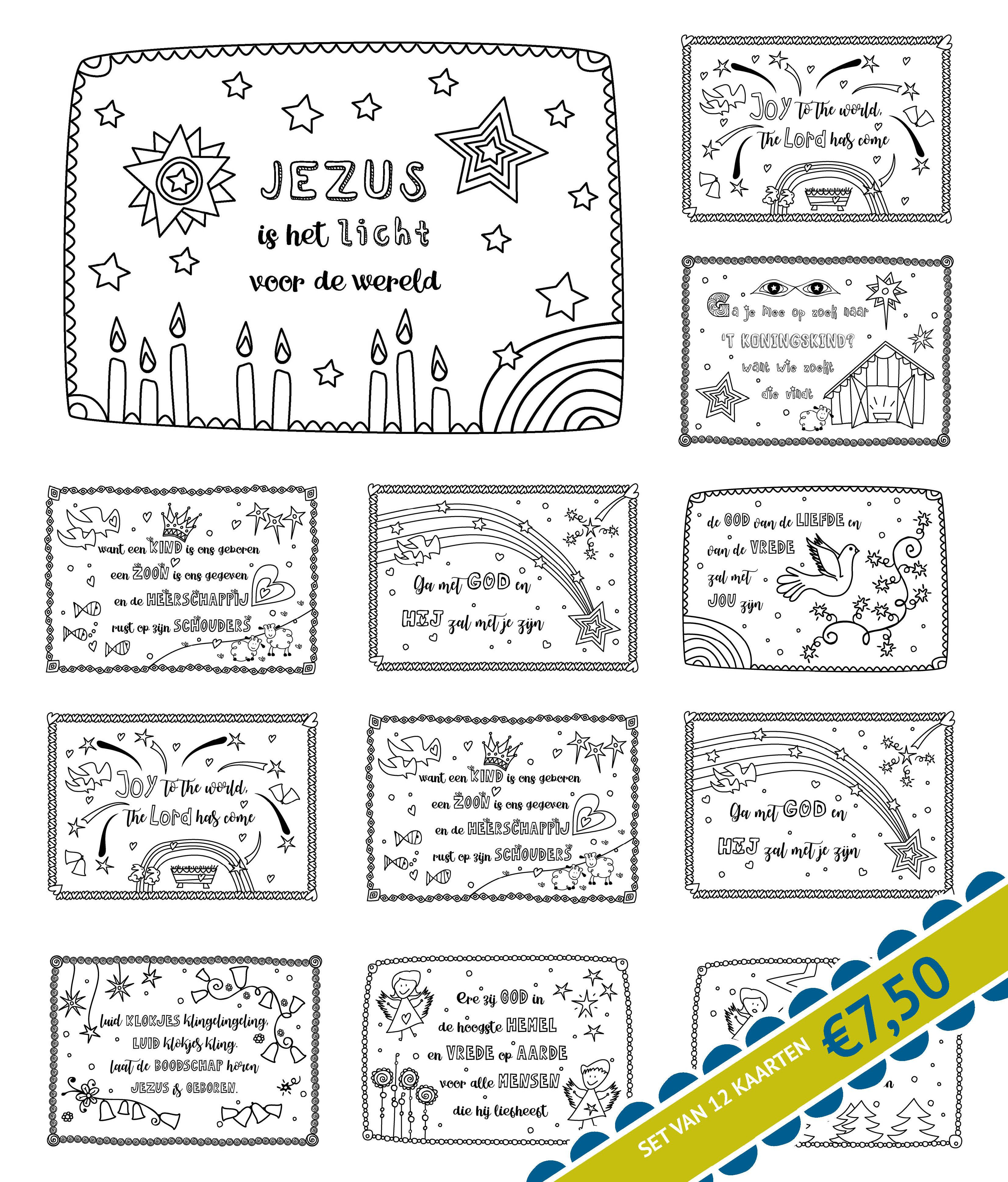 12 kerstkaarten kerst kaarten christelijke kerst kerst
