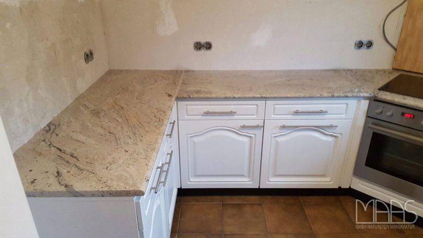 Aufmaß, Lieferung Und Montage Von Noch Einer #Granit #Küche! #Cielo #