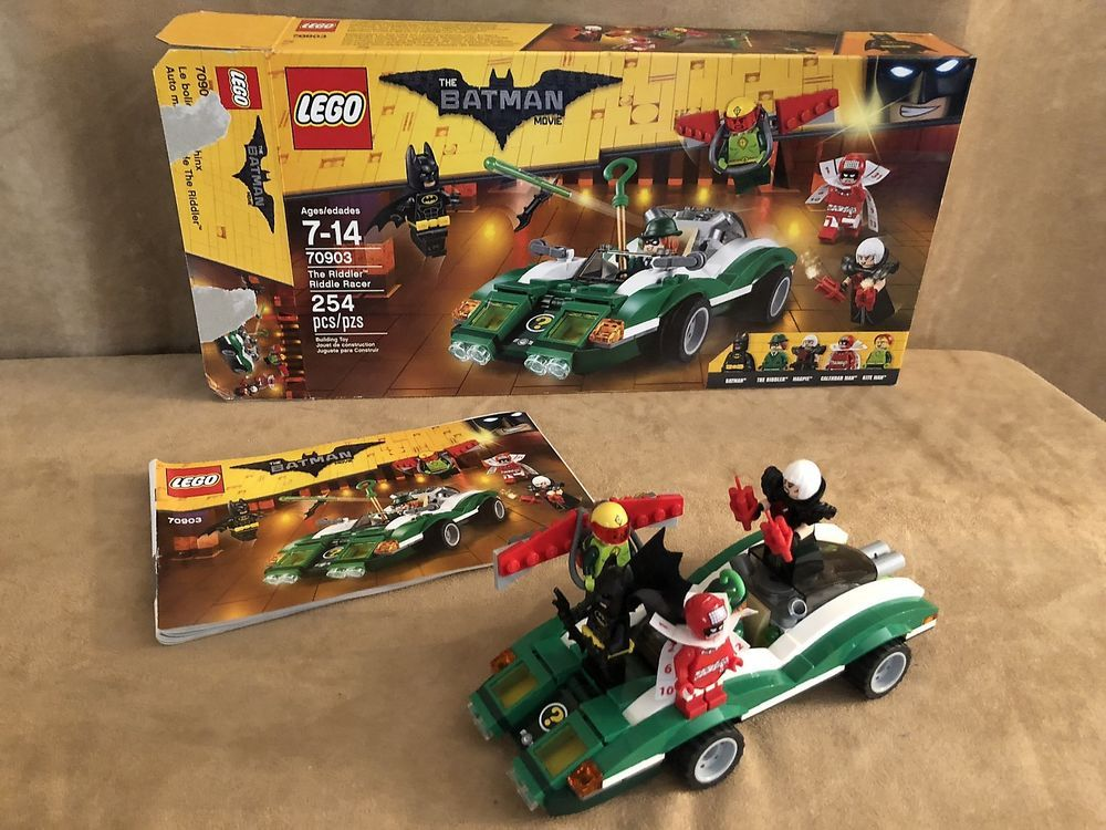 70903 Complete The LEGO Batman Movie The Riddler Riddle