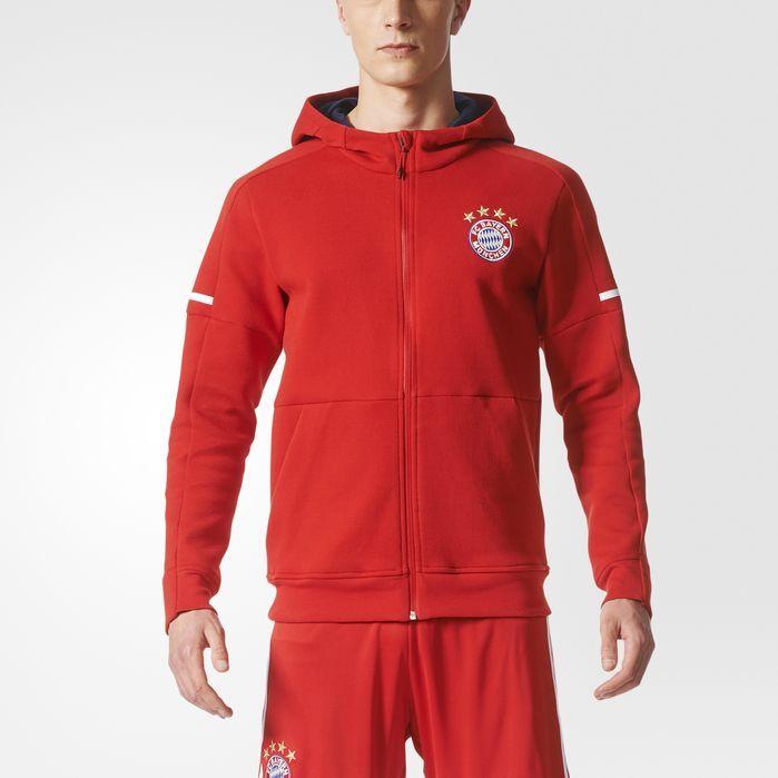 86ec9d0a017a7 adidas FC Bayern Munich Anthem Squad Hoodie - Mens Soccer Hoodies ...