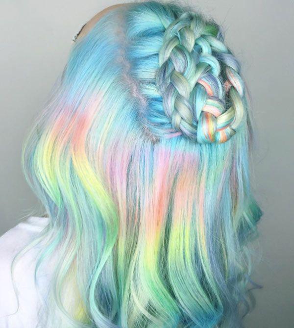 Cool Hair Colors 2019: 50 Pastel Hair Color Ideas 2019