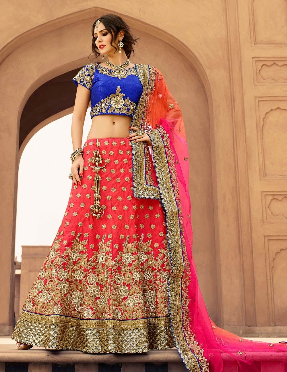 4215cc87df For purple and teal tones Silk Lehenga, Bridal Lehenga Choli, Lehenga Choli  Online,