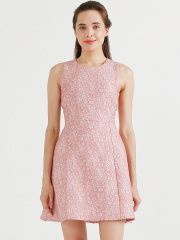 COVER STORY Pink A-Line Dress