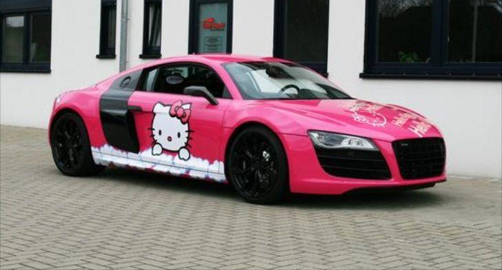 Hello Kitty I8 Hello Kitty Kitty Super Cars