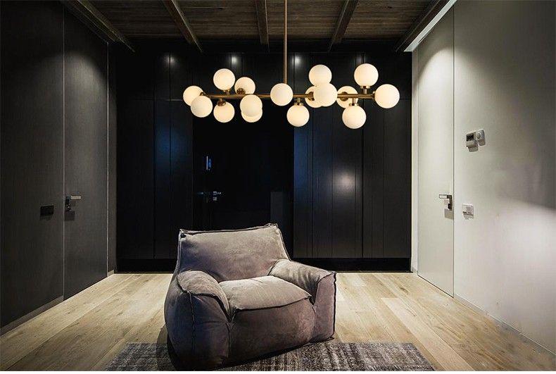 Nuovo design beanstalk lampade a sospensione 16 teste ...