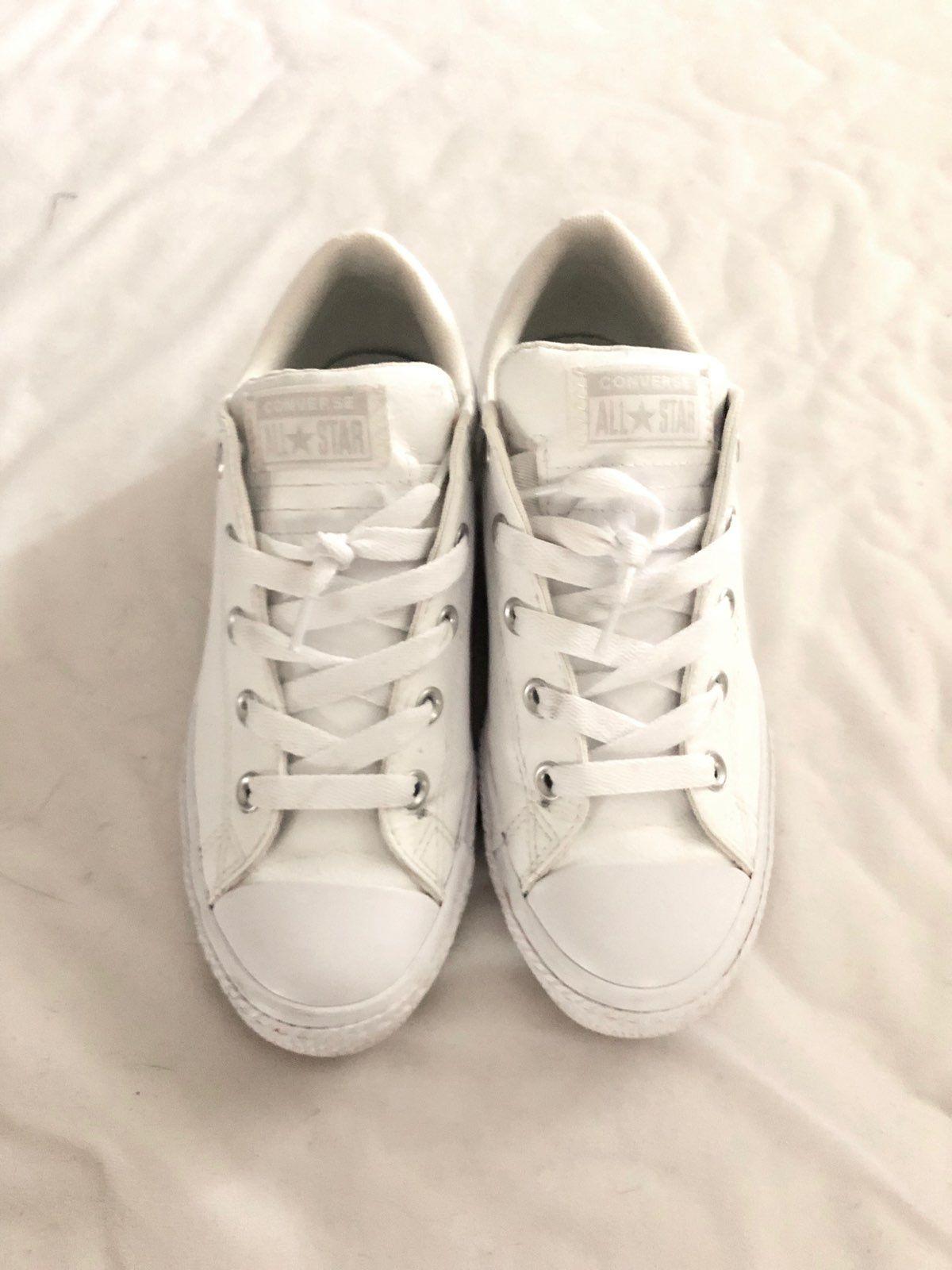 size 6 white converse all stars