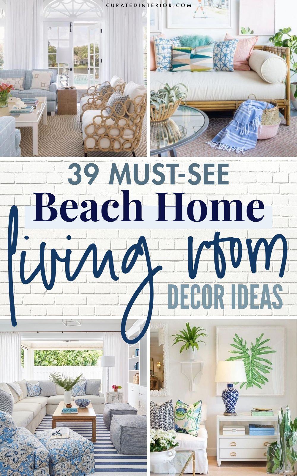 39 Coastal Living Rooms To Inspire You In 2021 Coastal Living Rooms Coastal Style Living Room Coastal Living Beach home living room decorating