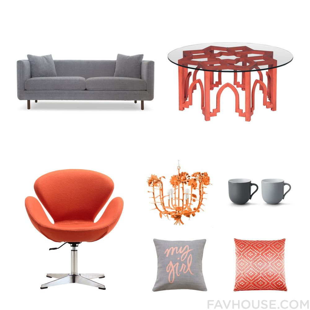 Home Decor Things With Joybird Sofa Red Furniture Dot Bo Chair And White