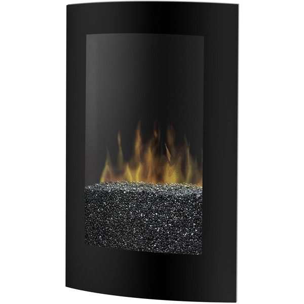 Dimplex Electraflame Convex Wall Mount Electric Fireplace 770 Liked On Polyvore Featuring Home Home Decor Fireplace Accesso My Polyvore Finds