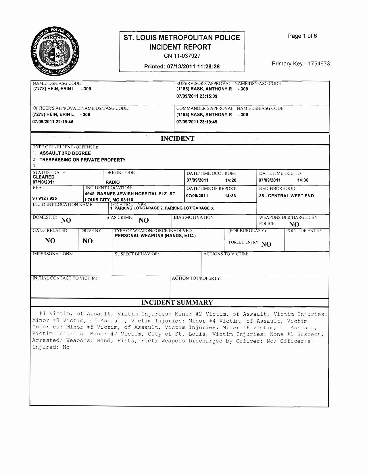 Blank Police Report Template Elegant Best S Of Police Incident Report Template Blank Report Template Incident Report Incident Report Form