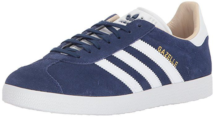 cbfd2440e adidas Originals Gazelle W Sneaker Leather and synthetic Imported Synthetic  sole Shaft measures approximately low-top from arch Removable insole