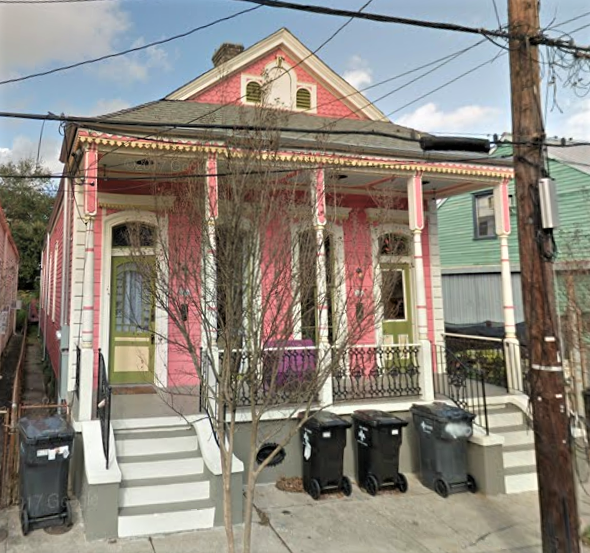2331 Dauphine St., New Orleans, Louisiana, home of Juanita