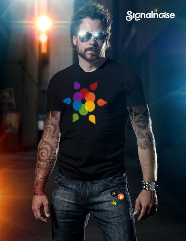 0abfca231 Signalnoise Designer T-shirts by James White | InstaTee™ | Adobe ...