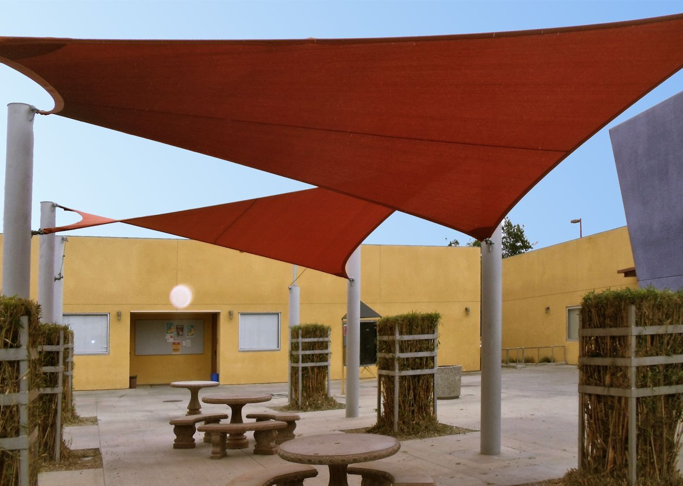 Shade Sails And Tension Structures