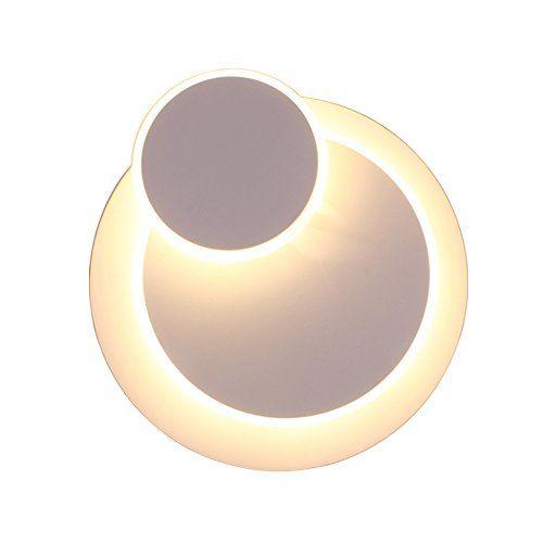 Creative Grain de bois Applique Murales Interieurs LED Lampe Moderne Simple Salon All/ée Balcon Lampe Led Chrome Chambre T/ête de Lit Applique Murale Japonais Lampe Murale