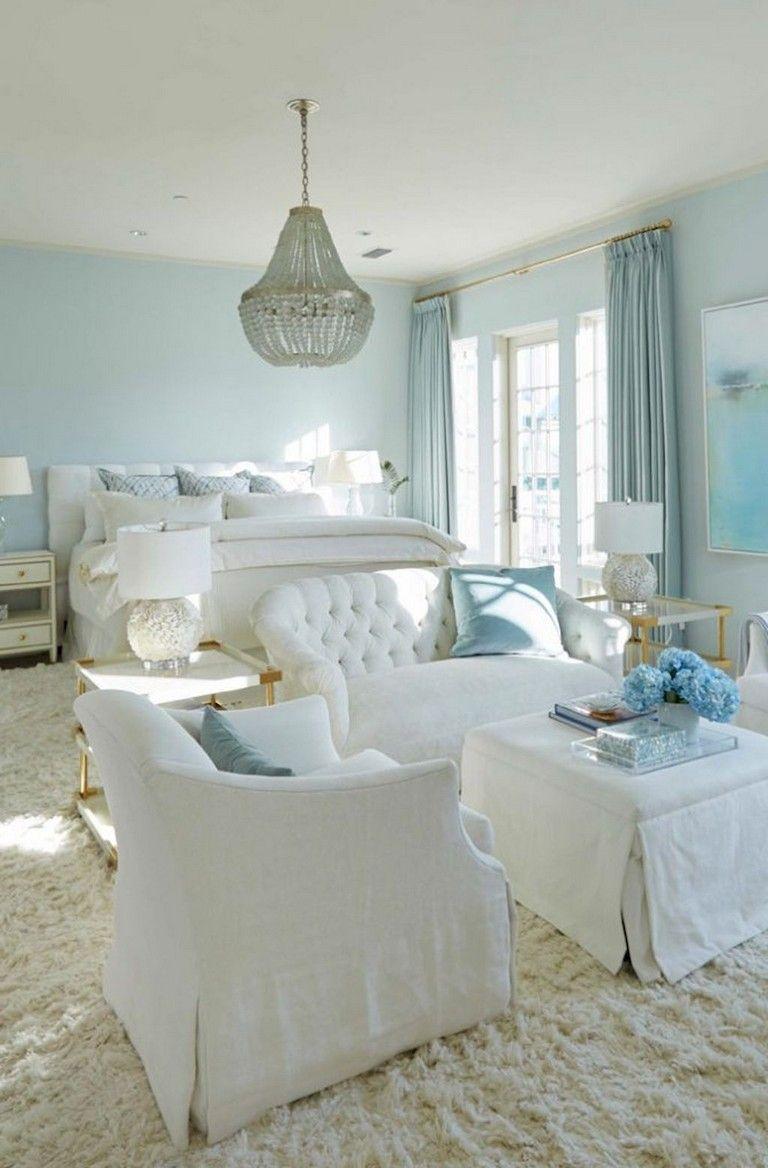 Seaside Bedroom Decorating Ideas: 68+ Cozy Modern Coastal Bedroom Decorating Ideas