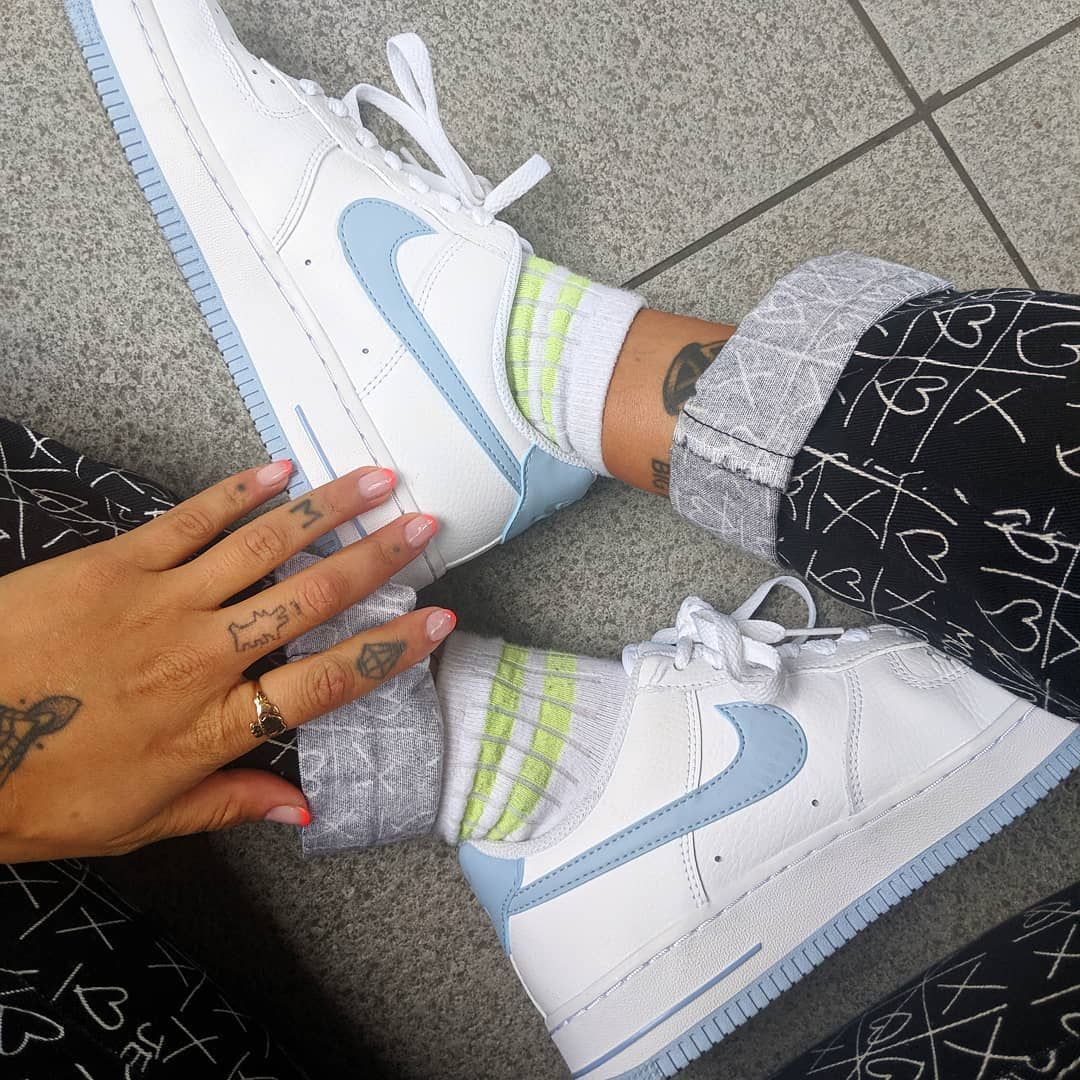 Nike Air Force 1 '07 White Armory Blue – hier kaufen