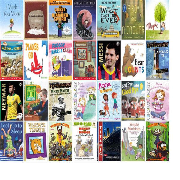 """Saturday, April 18, 2015: The Framingham Public Library has 92 new children's books in the Children's Books section.   The new titles this week include """"I Wish You More,"""" """"Enormous Smallness: A Story of E. E. Cummings,"""" and """"The Quest for the Diamond Sword: A Minecraft Gamer's Adventure."""""""