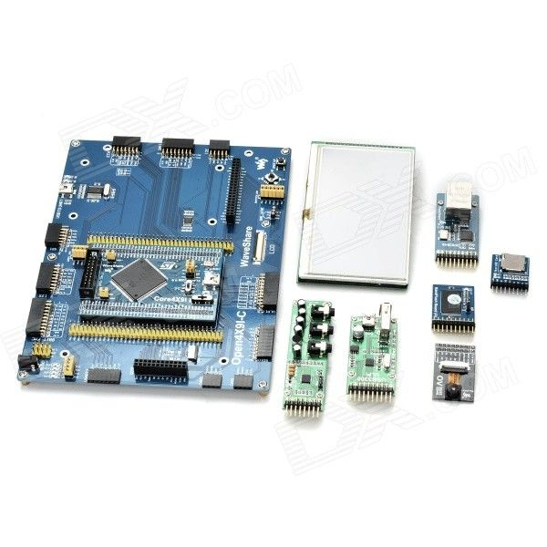 Waveshare STM32 Development Boards Kit for Open429I-C - Blue. . Tags: #Electrical #Tools #Arduino #SCM #Supplies #Kits