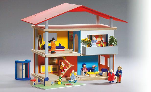 puppenhaus selber bauen puppenhaus bauen selber bauen und spielger te. Black Bedroom Furniture Sets. Home Design Ideas
