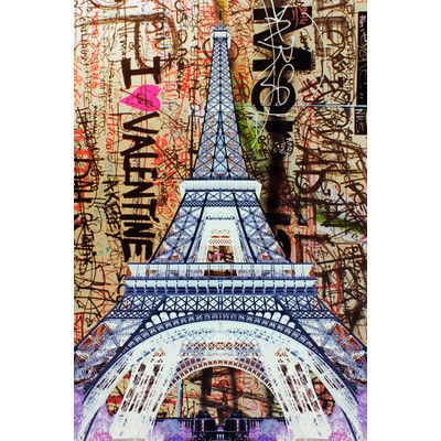 Street Art In The Sky Pink Graphic Art On Canvas Street Art Pink Canvas Art Kids Art Wall Frames