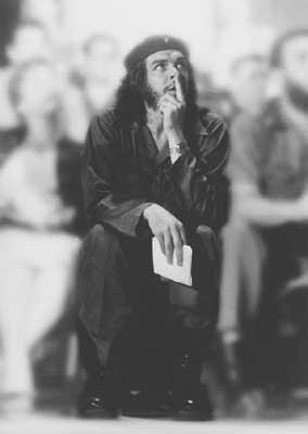 FOTO CHE GUEVARA ALL'UNIVERISTA' DELL'HAVANA NEL 1962 - FOTOGRAFIE E IMMAGINI DEL CHE