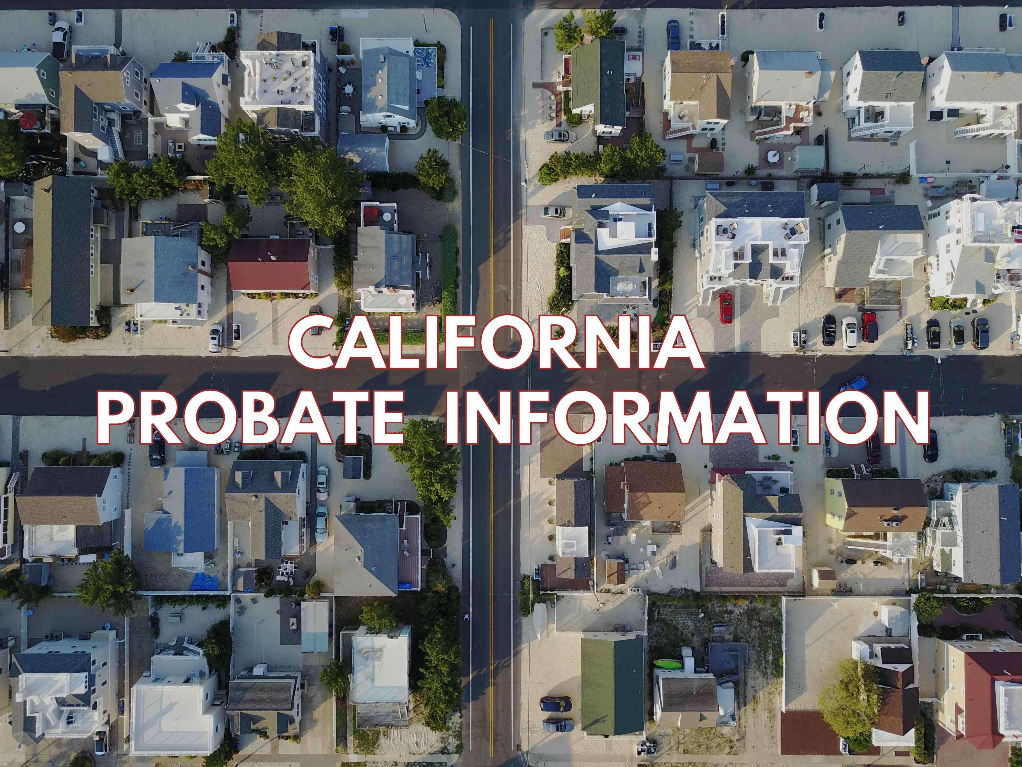 California Probate Information https//apeopleschoice