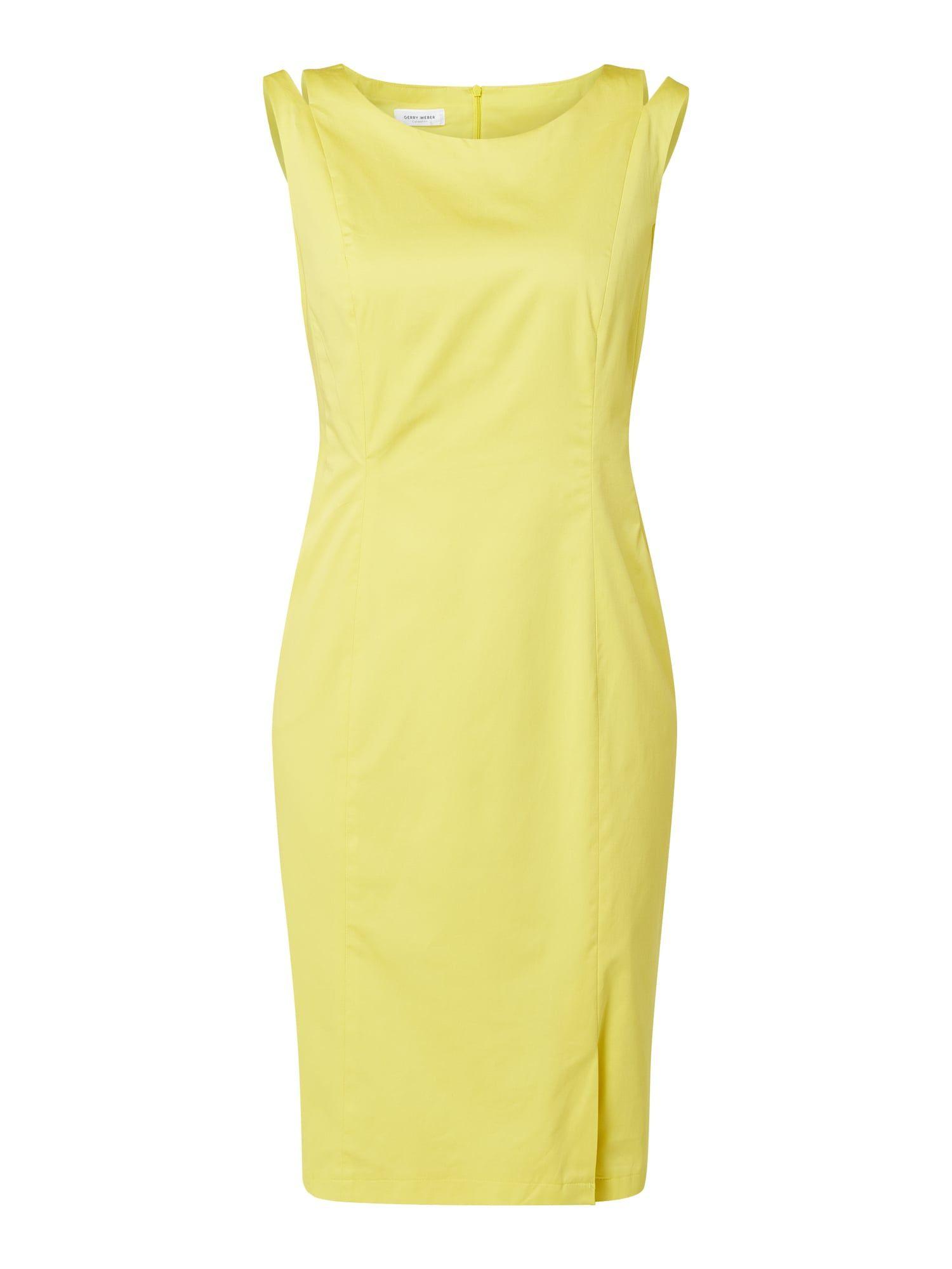 Bei P C Kleider Von Gerry Weber Jetzt Gerry Weber Kleid Mit Eingrifftaschen In Gelb Online Kaufen 9972578 Summer Dresses Dresses For Work Bright Winter