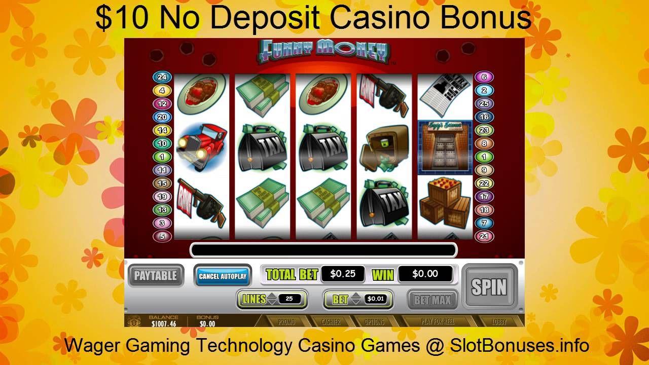 Funny Money FREE No Deposit Bonus & WGT Casino Games