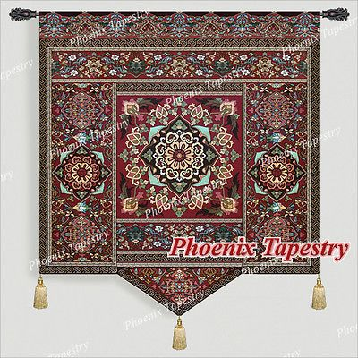 Moroccan Style Iii Fine Art Tapestry Wall Hanging Cotton 100 55