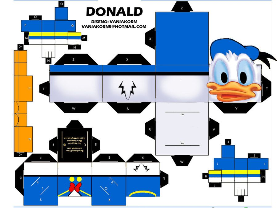 CUBEECRAFT DONALD By Vaniakorn5deviantart On DeviantART