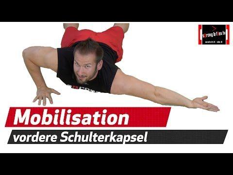 Schulter mobilisieren - einfach und effektiv - YouTube   gymnastik ...