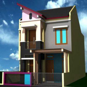 5 Desain Rumah Minimalis 2 Lantai Ukuran 6x9 Terbaru 2020 Rumah Minimalis Desain Rumah Arsitektur