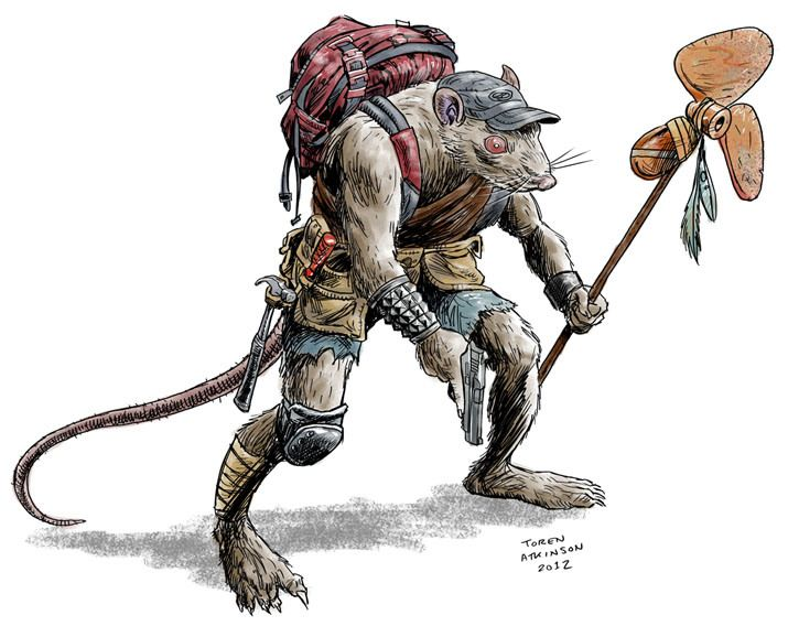 mutant animals rpg - Google Search