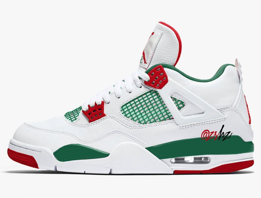 "8b109071fbe7 Air Jordan 4 NRG ""White Gucci"" Releasing April 2019"
