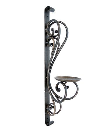 Take a look at this Scroll Wall Candleholder by VIP International on #zulily today!