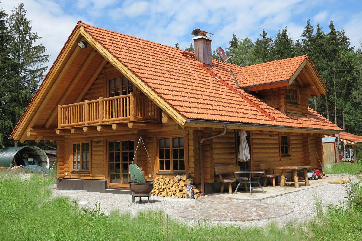 Rundstamm Wohnblockhaus Blockhaus Hauser Traumhaus Plane Haus