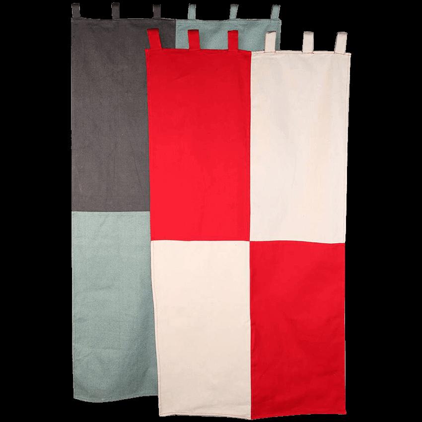 Bandera de los Templarios 90x150 cm Poliéster templo medieval Caballero Cruzado CRUSADER Banner