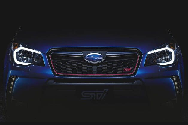 Subaru Provides First Glimpse At Upcoming Forester Sti Subaru Forester Sti Subaru Forester Subaru Forester Xt