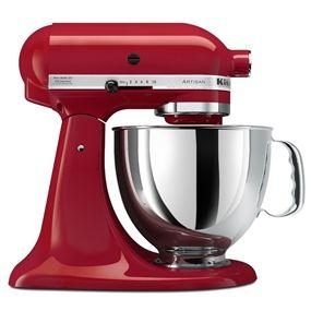 Na Cook & Beyond você encontra essa maravilhosa Batedeira Planetária Stand Mixer Artisan Empire Red - KitchenAid http://www.cookbeyond.com.br/eletroportateis-s455/?pagina=1