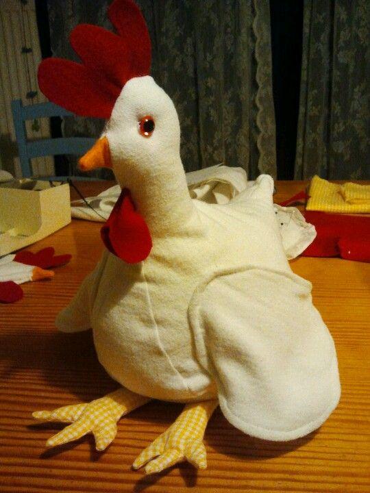 De kip was zo blij!