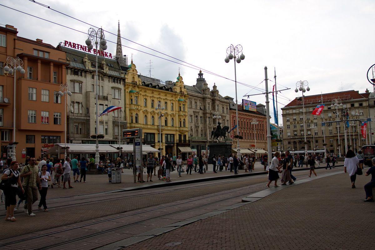 Ban Jelack Square Zagreb Zagreb Croatia Street View