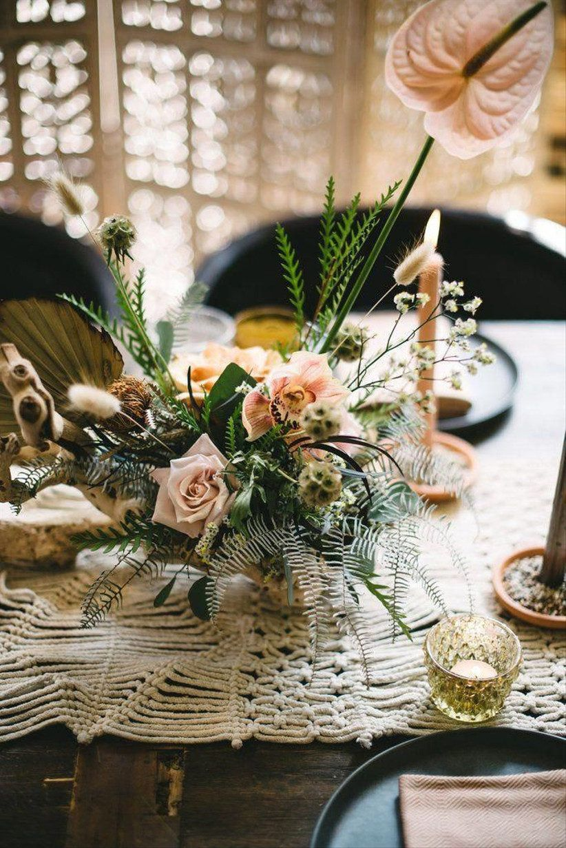 20 Bohemian Wedding Theme Ideas For Free Spirited Couples In 2021 Wedding Floral Centerpieces Flower Centerpieces Wedding Wedding Centerpieces