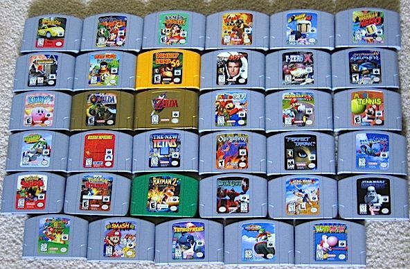 how to play n64 and super nintendo