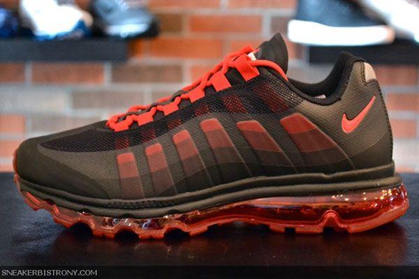 4f9b26b287 Nike Air Max 95+ BB WTM - Black/Sport Red | Kicks | Nike air max ...