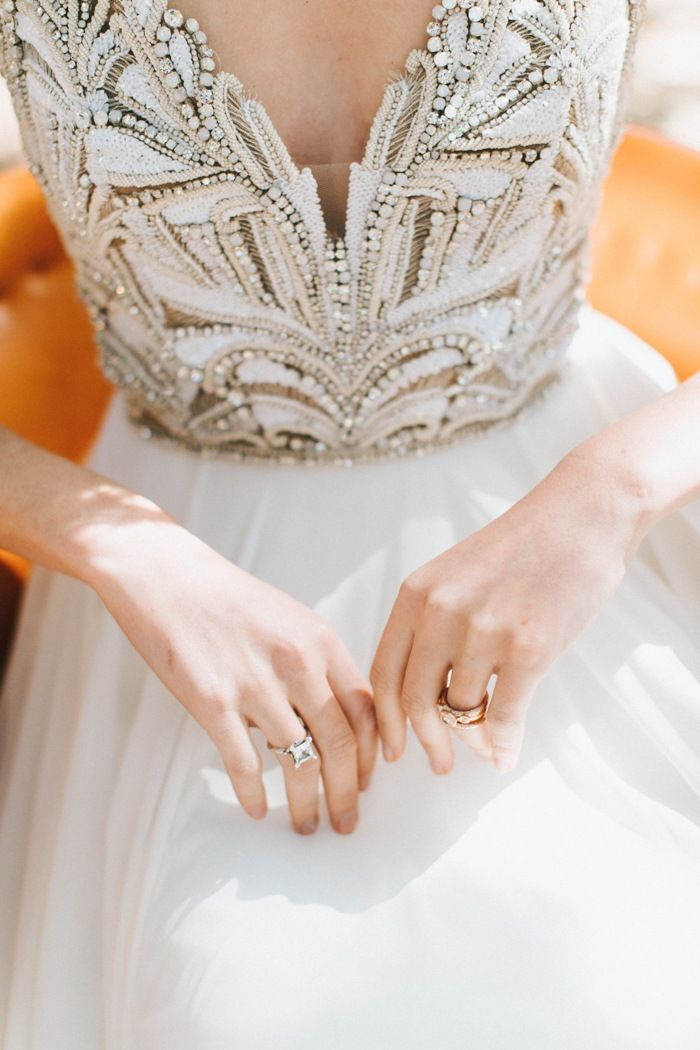 Magical Maine Woodland Wedding Inspiration with Dreamy Tangerine ...