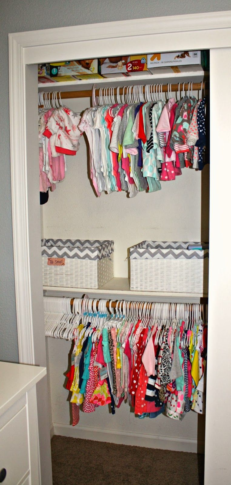 Deep Closet Organization Ideas Part - 42: Nursery Organization