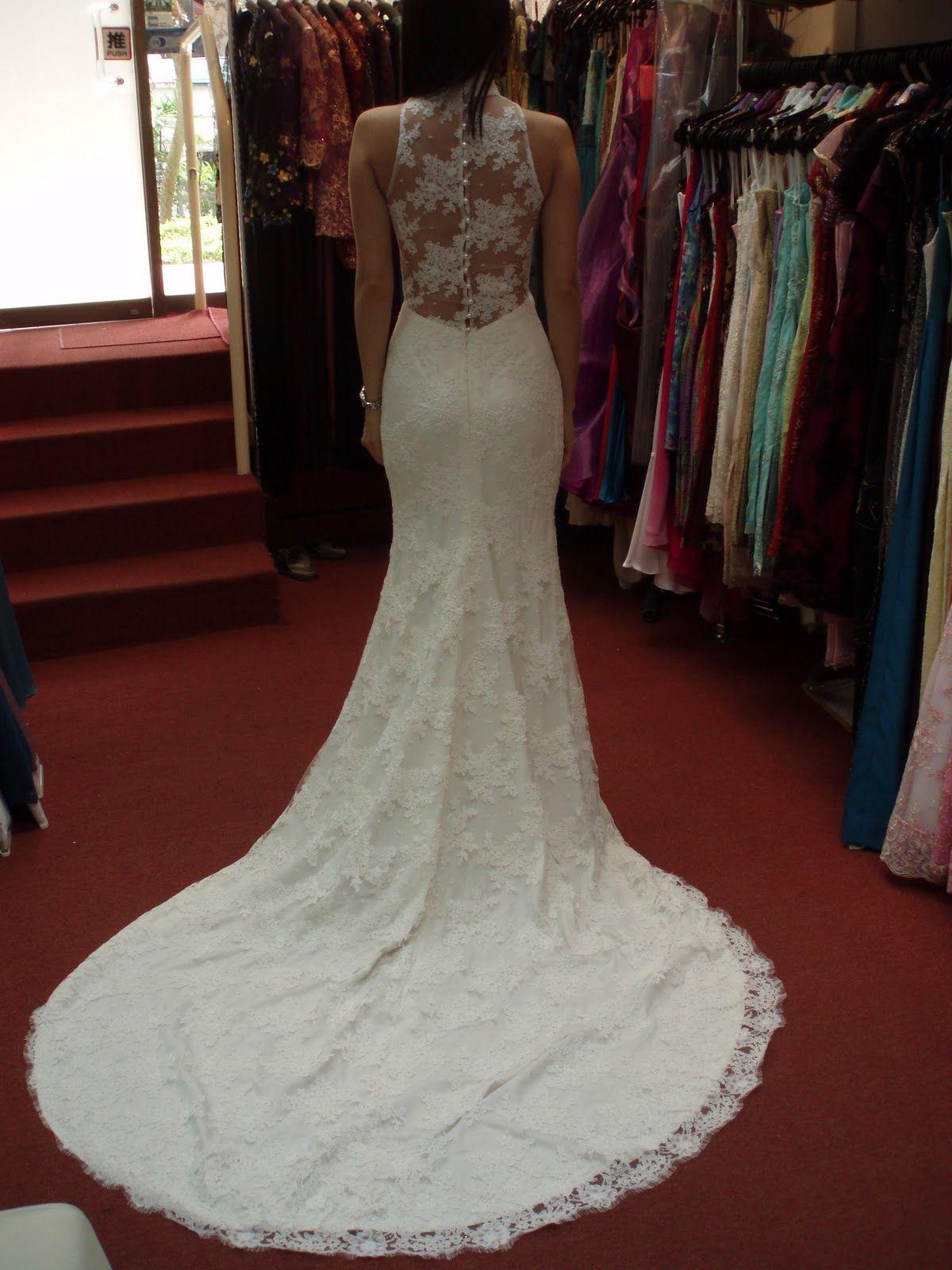 my reception dress