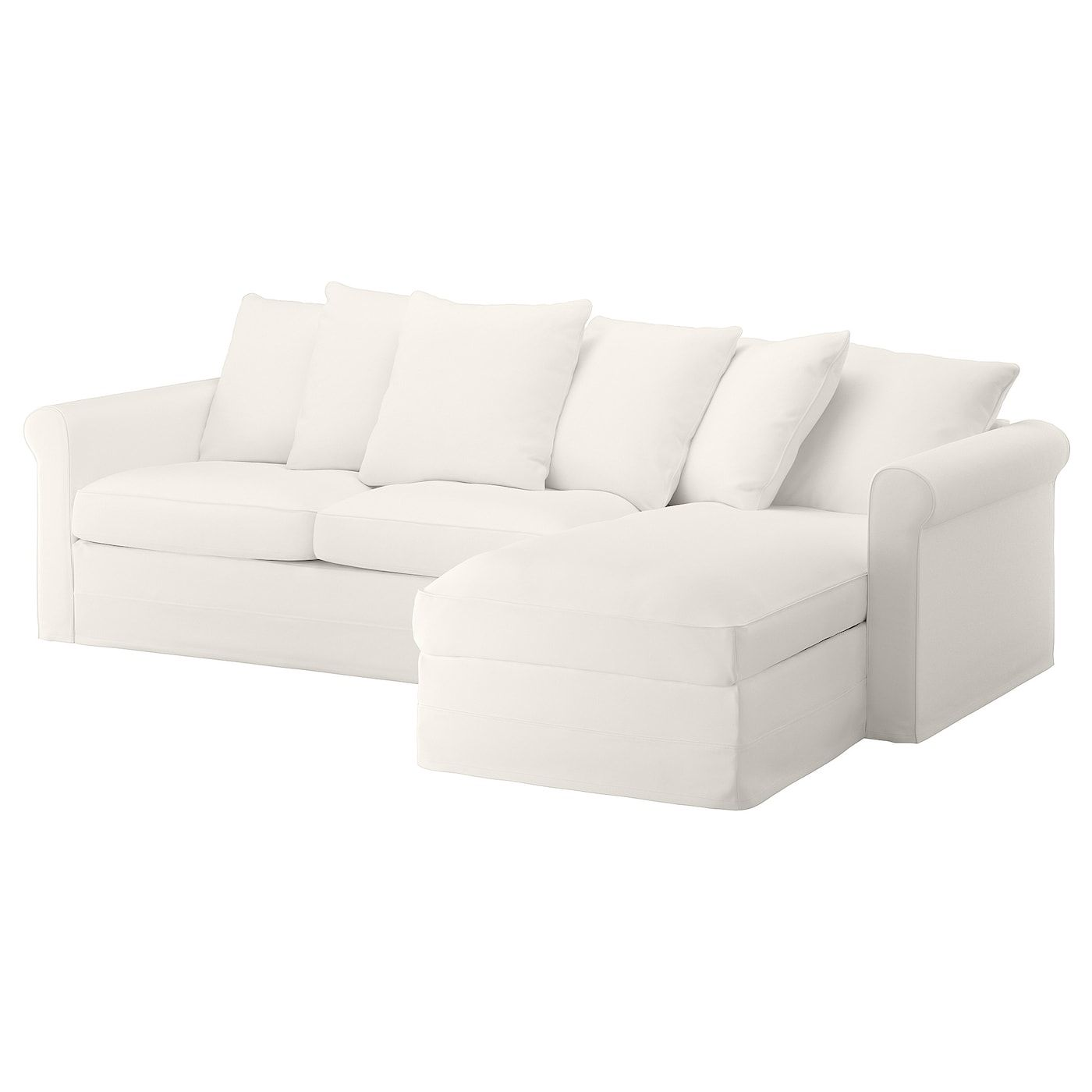 Ikea Chaise Longue Slaapbank.Gronlid 3 Zits Slaapbank In 2020 Sofa Bed With Chaise Sofa