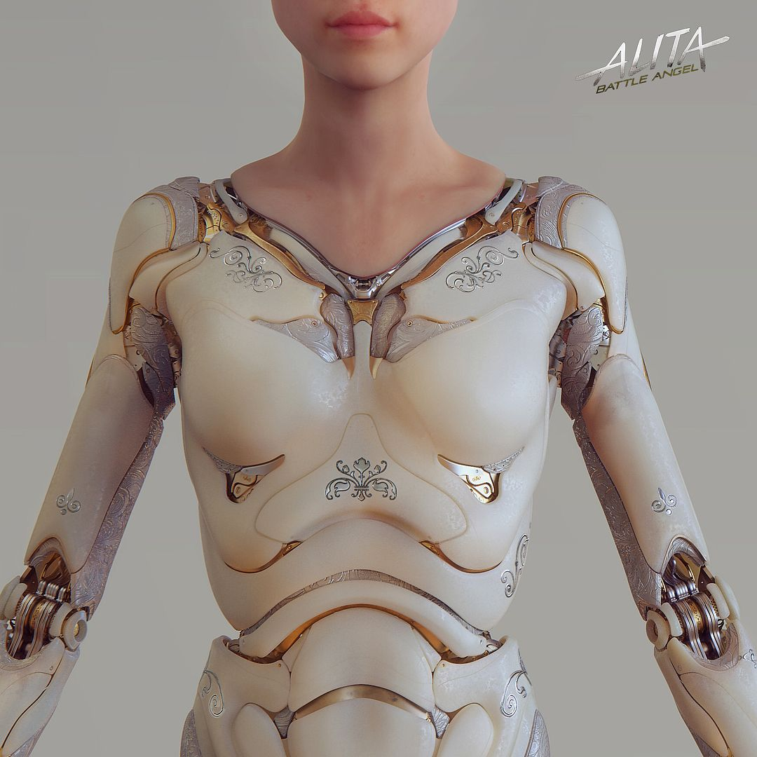 More Work I Did For Alita S Initial Doll Body The Images Here